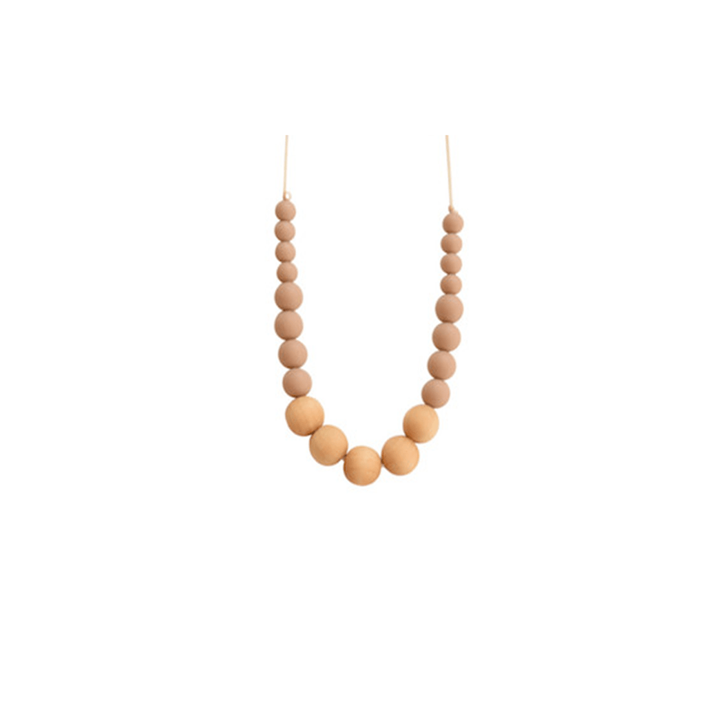 The Landon Necklace Taupe - The Project Nursery Shop - 2
