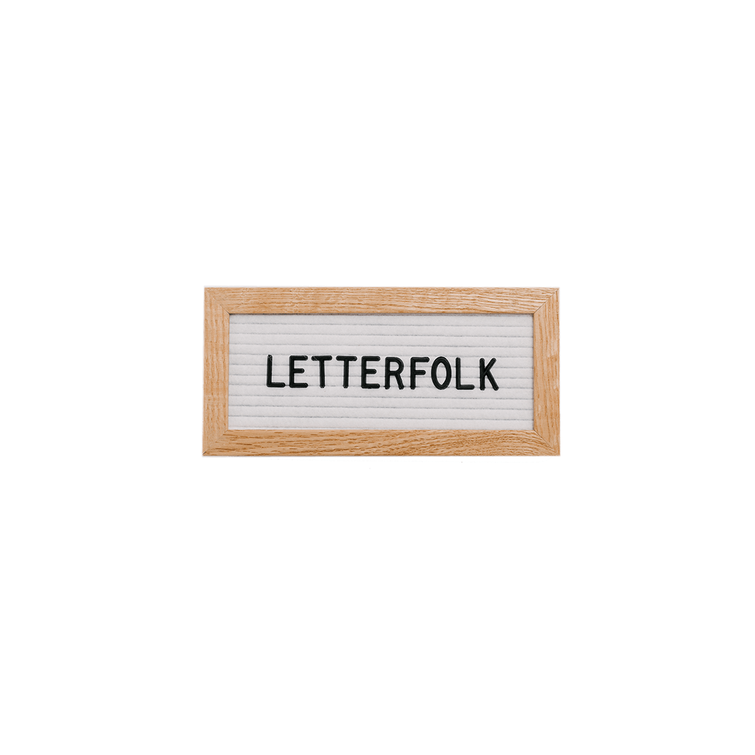 Letterfolk - The Mini Letter Board - Project Nursery