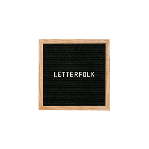 Letterfolk - The Writer Letter Board