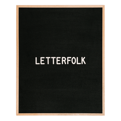 Letterfolk - The Wordsmith Letter Board - Project Nursery