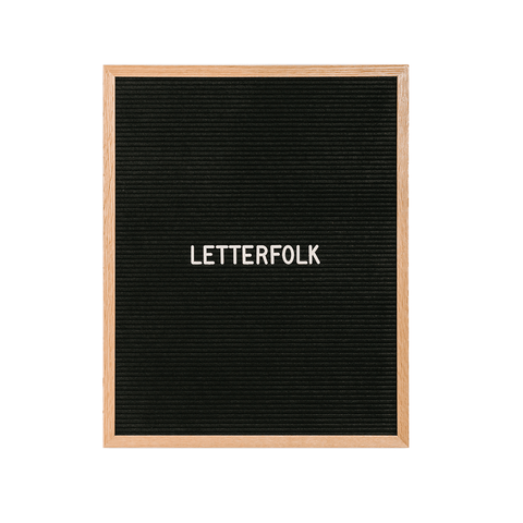 Letterfolk - Additional Roman Letter Set