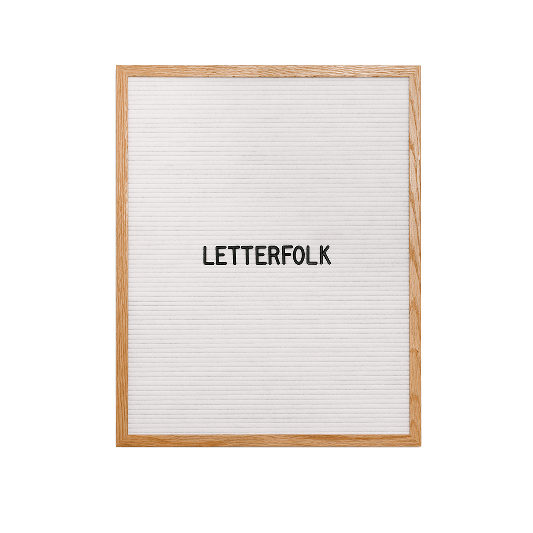Letterfolk - The Writer Letter Board - Project Nursery