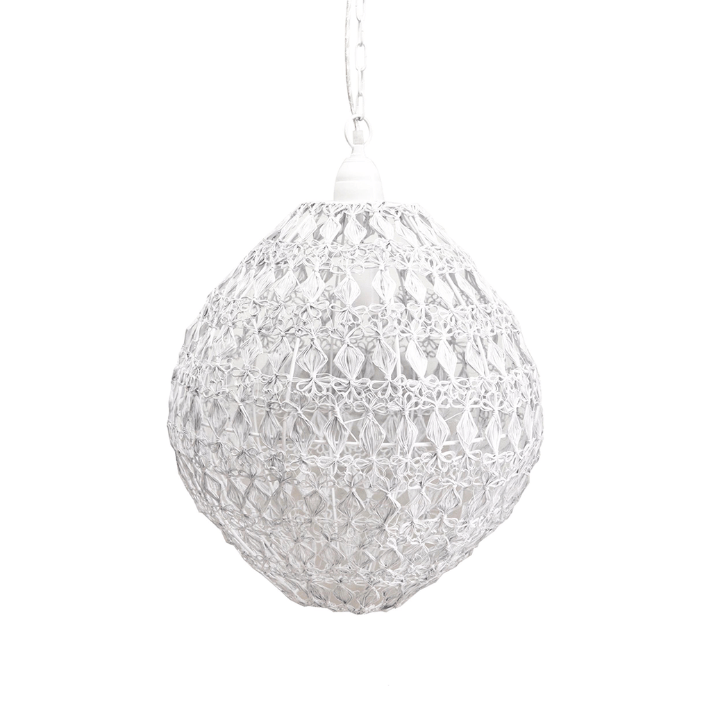 Vela Cumulus Pendant White - The Project Nursery Shop - 2