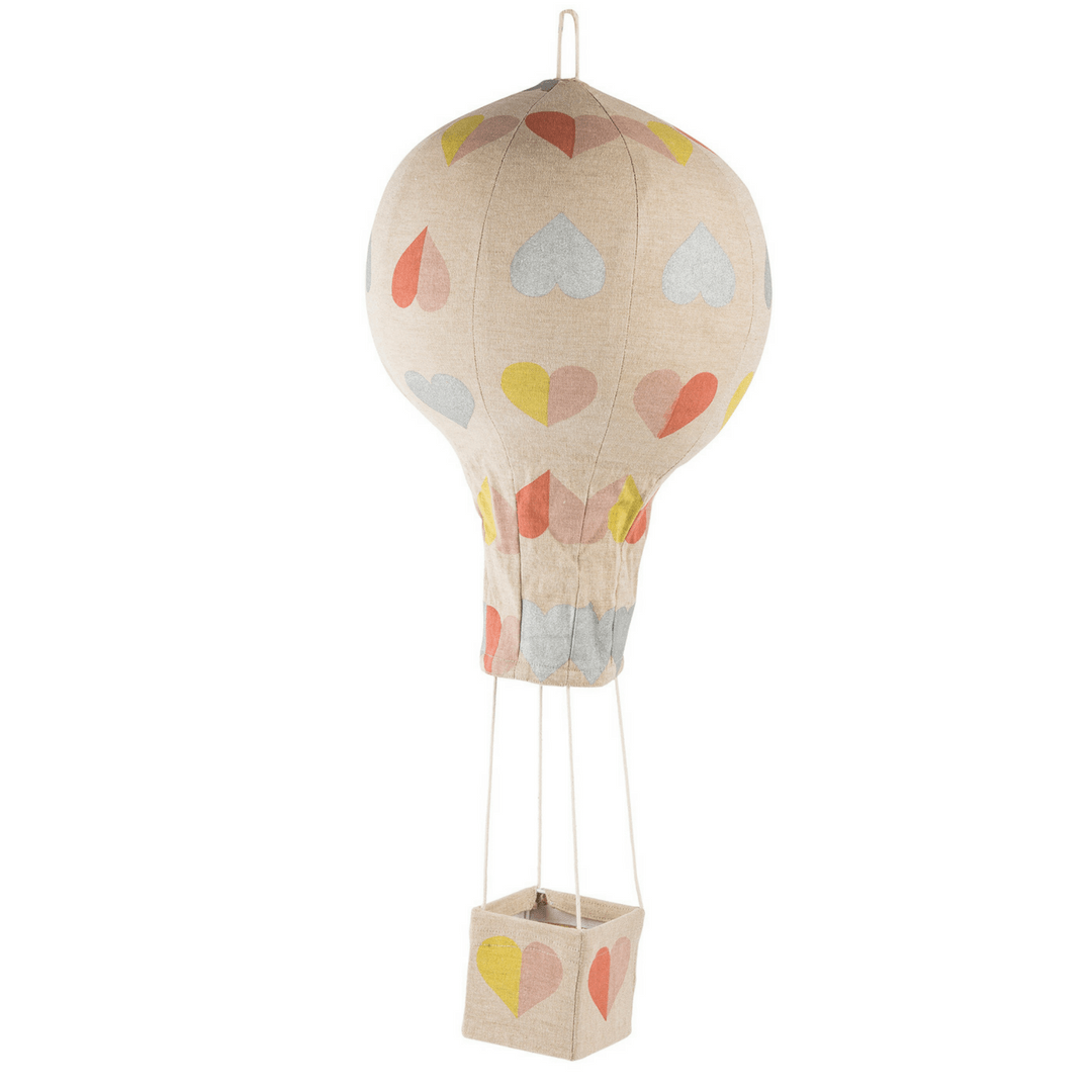 Hot Air Balloon Mobile - Hearts - Project Nursery