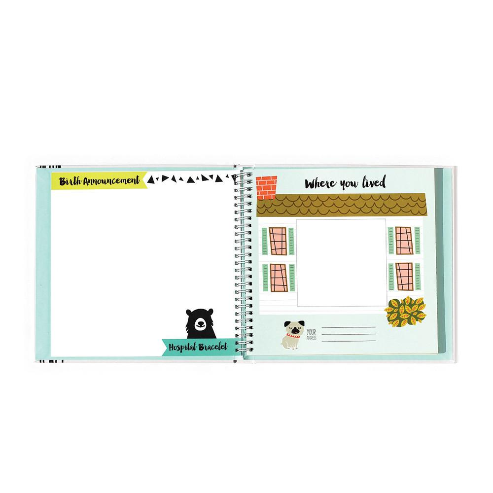 Little Animal Lover Memory Book - Project Nursery