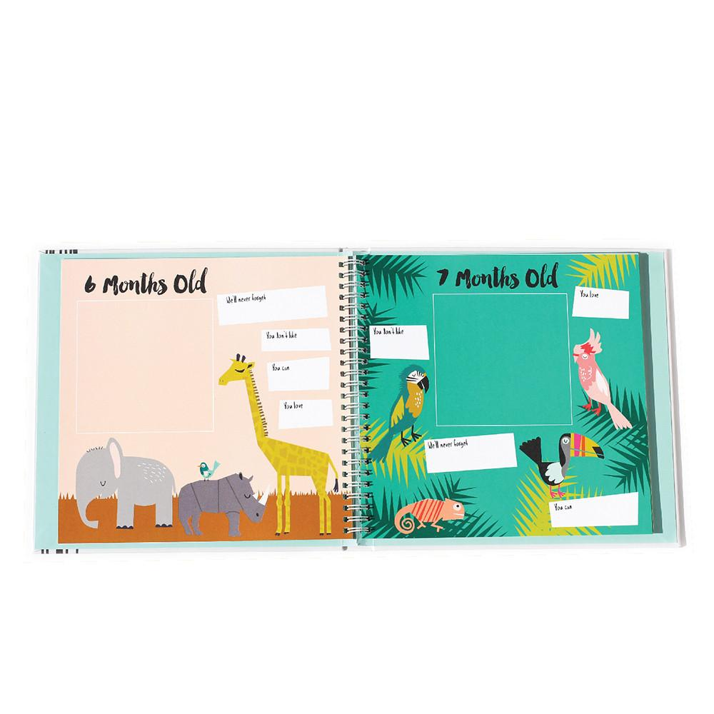 Little Animal Lover Memory Book  - The Project Nursery Shop - 3