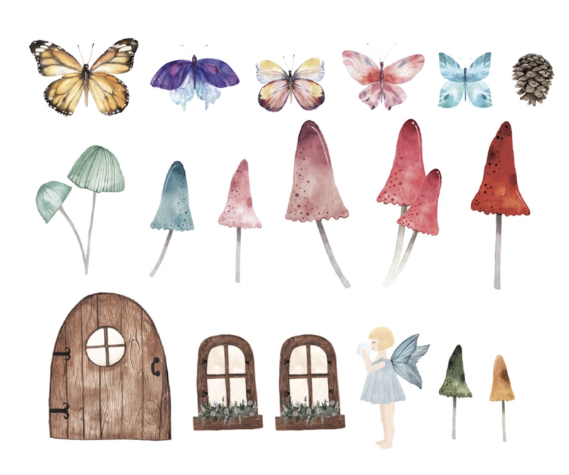 Little Fairy Decal Set - Project Nursery