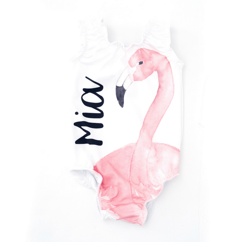 Personalized Flamingo Sweet Swimmer One Piece - Project Nursery