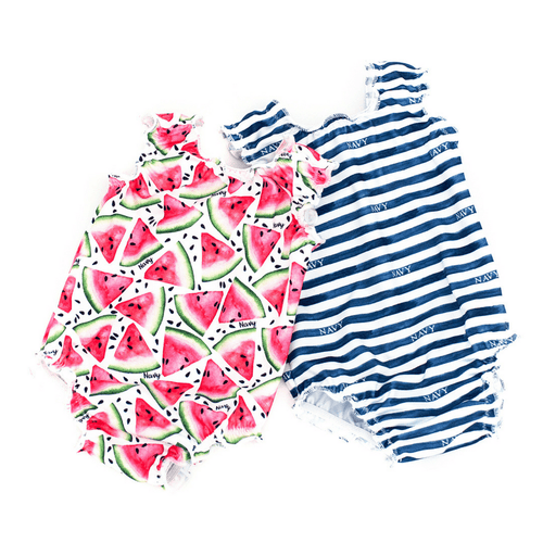 Personalized Girls Sweet Swimmer Suit - Project Nursery