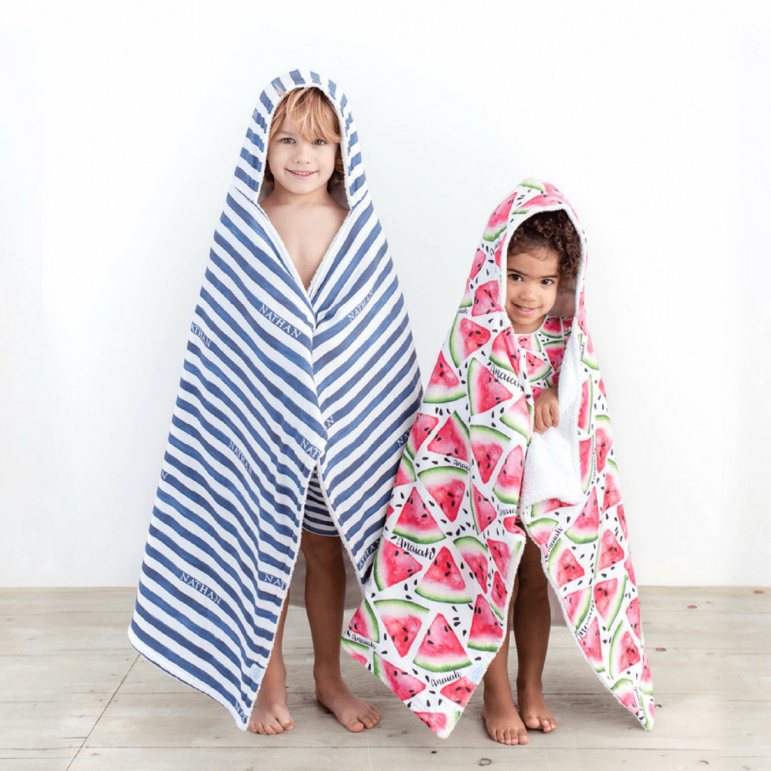 Personalized Hooded Swim Towel - Project Nursery