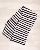 Ink Stripe Swaddle  - The Project Nursery Shop - 2