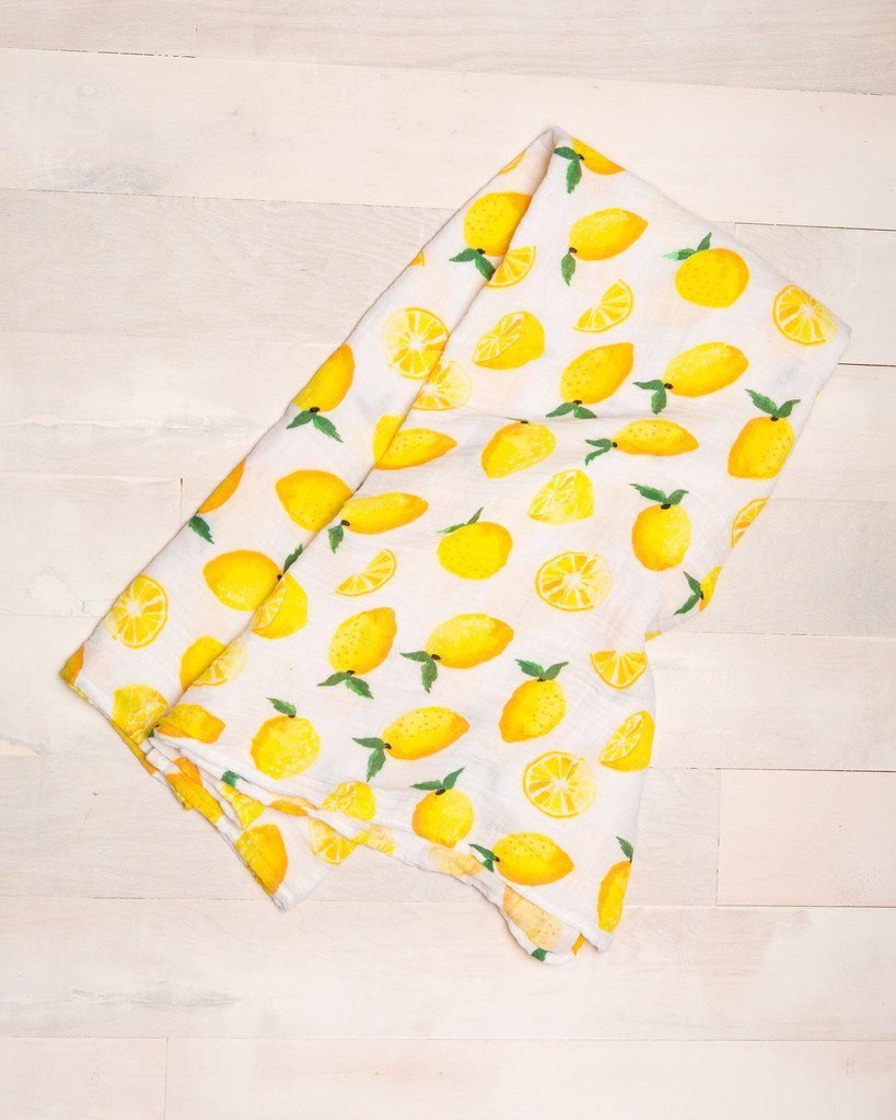 Lemon Swaddle  - The Project Nursery Shop - 2