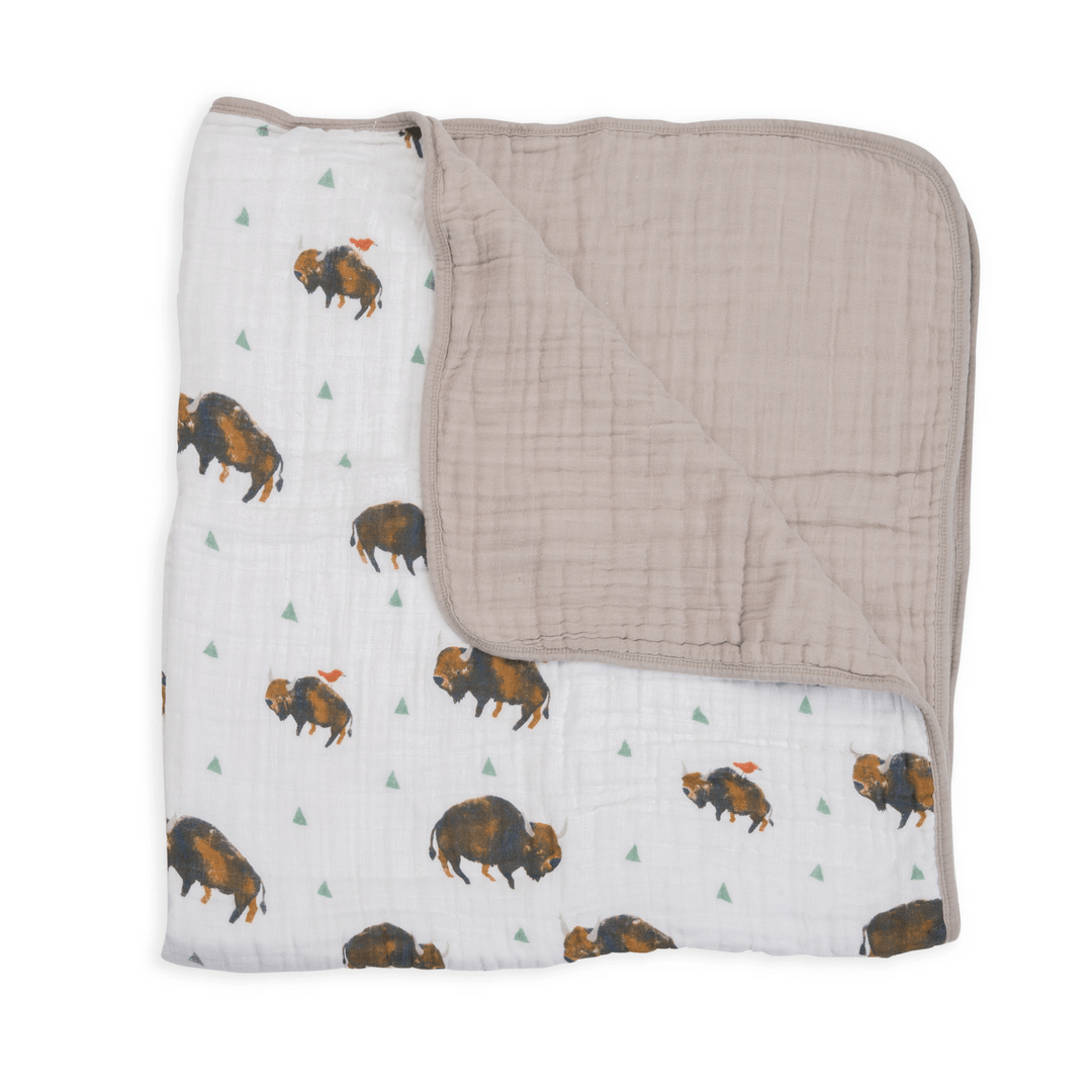 Bison Toddler Quilt - Project Nursery