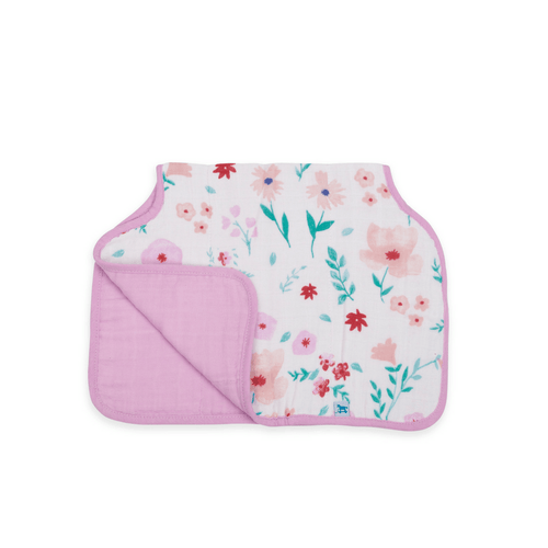 Cotton Muslin Burp Cloth - Morning Glory - Project Nursery