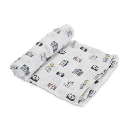 Camera Swaddle Blanket - Project Nursery