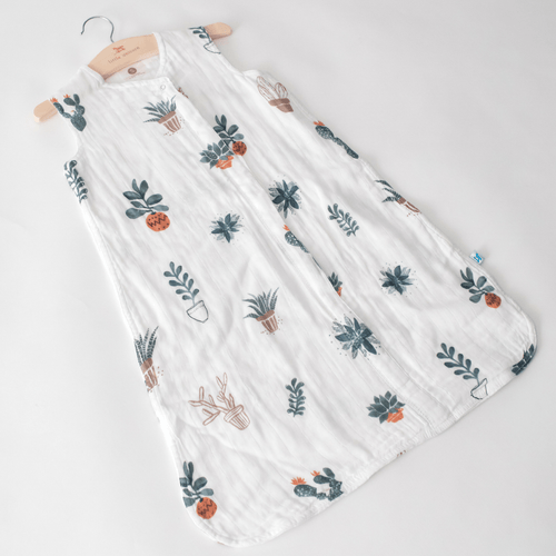 Cotton Muslin Sleep Bag - Prickle Pots - Project Nursery