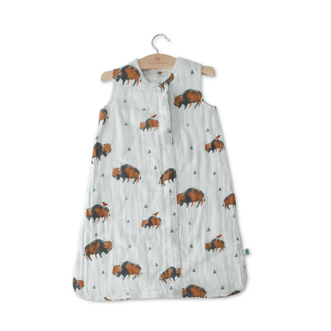 Personalized Muslin Swaddle - Woodland Bear