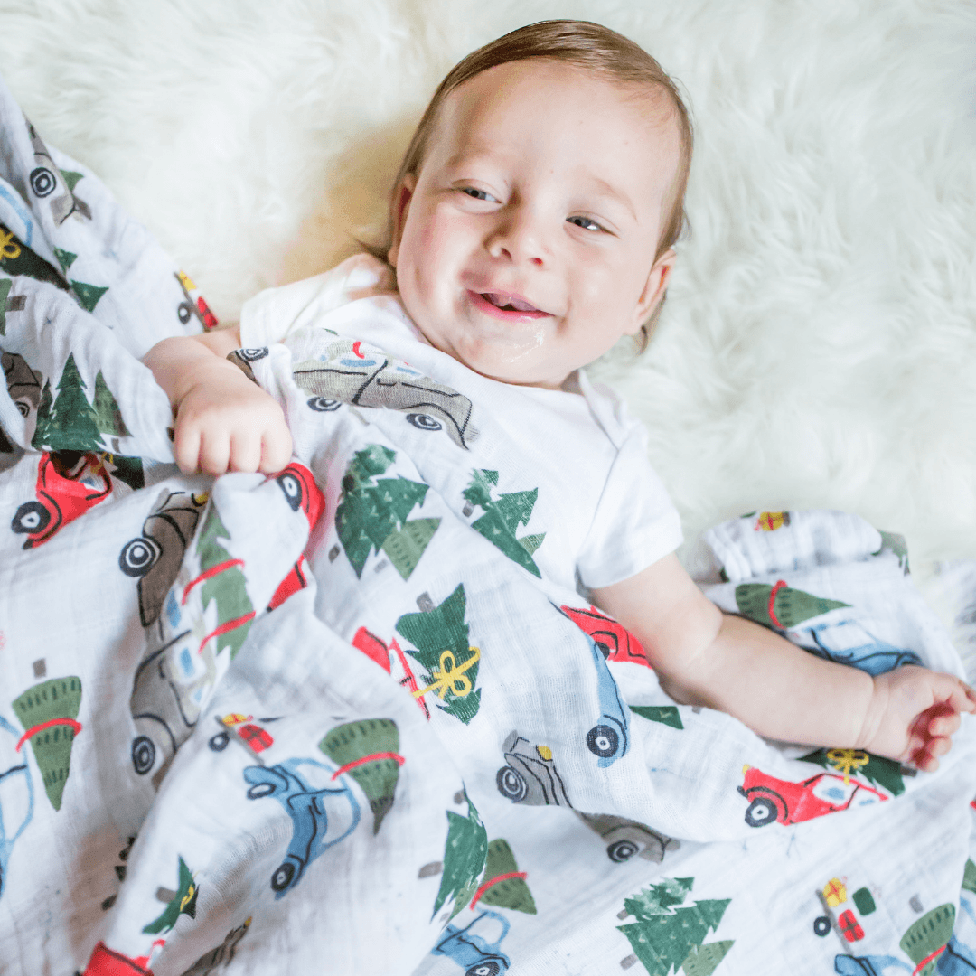 Holiday Haul Swaddle - Project Nursery