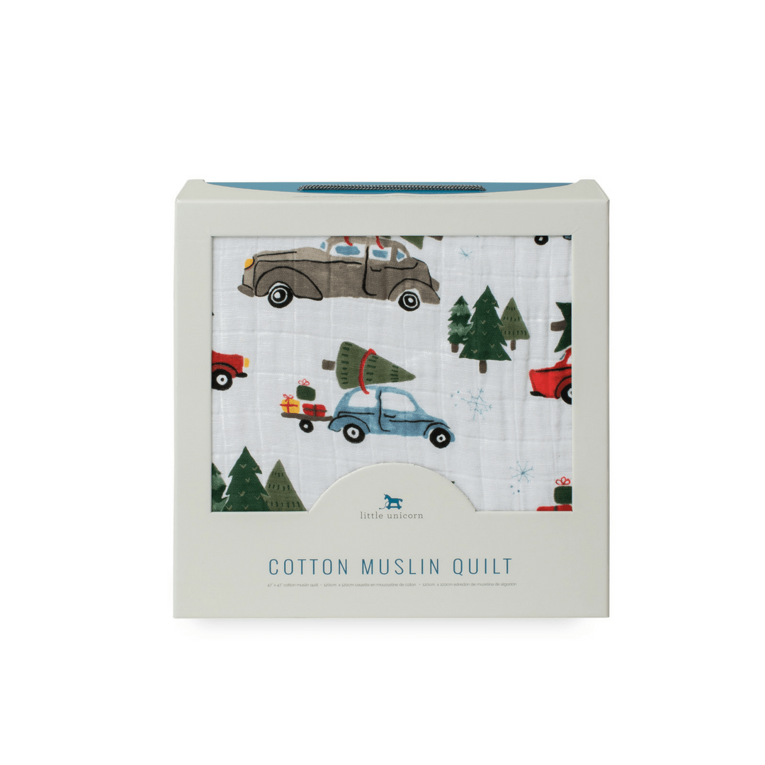 Holiday Haul Toddler Quilt - Project Nursery