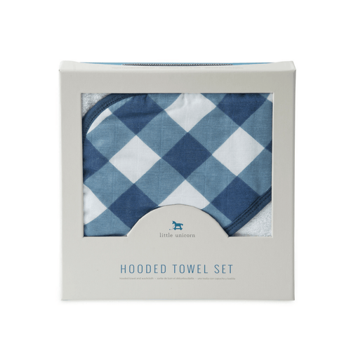 Jack Plaid Hooded Towel Set - Project Nursery