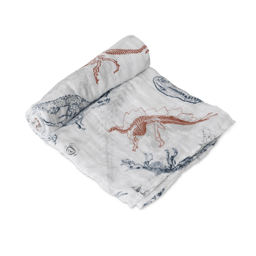 Paleontologic Swaddle Blanket - Project Nursery