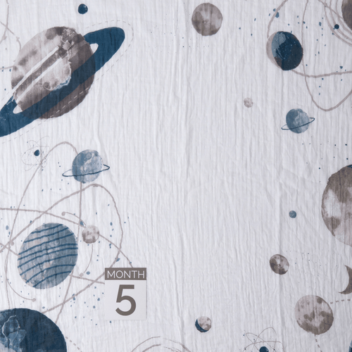 Planetary Photo Blanket - Project Nursery