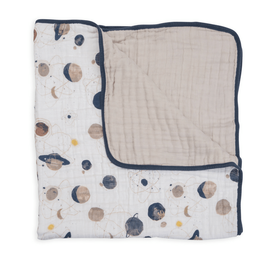 Planetary Toddler Quilt - Project Nursery