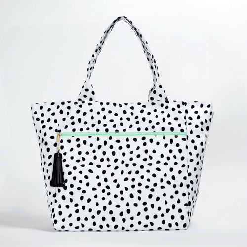 Large Carryall Tote in Spots - Project Nursery