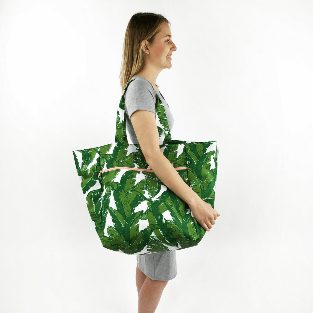 Oversized Carryall Tote in Palmtastic - Project Nursery