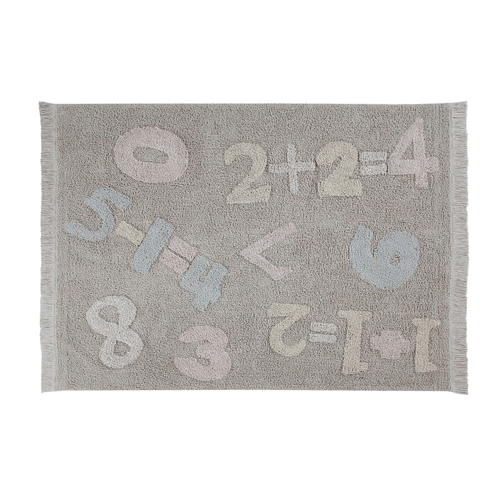 Baby Numbers Washable Rug - Project Nursery
