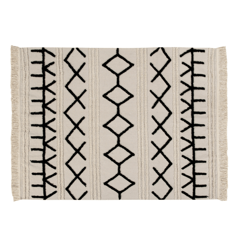 Mud Cloth Pillow Cover - Rust Arrows