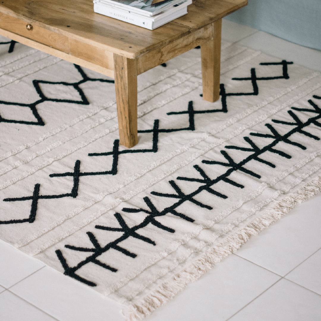 Bereber Canvas Rug - Project Nursery