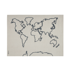 Canvas Map Wall Hanging - Project Nursery
