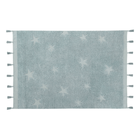 Organic Hooded Towel and Washcloth Set - Boucle Star
