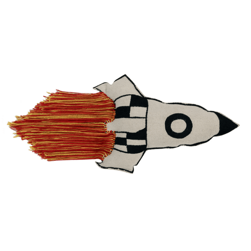 Rocket Cushion - Project Nursery