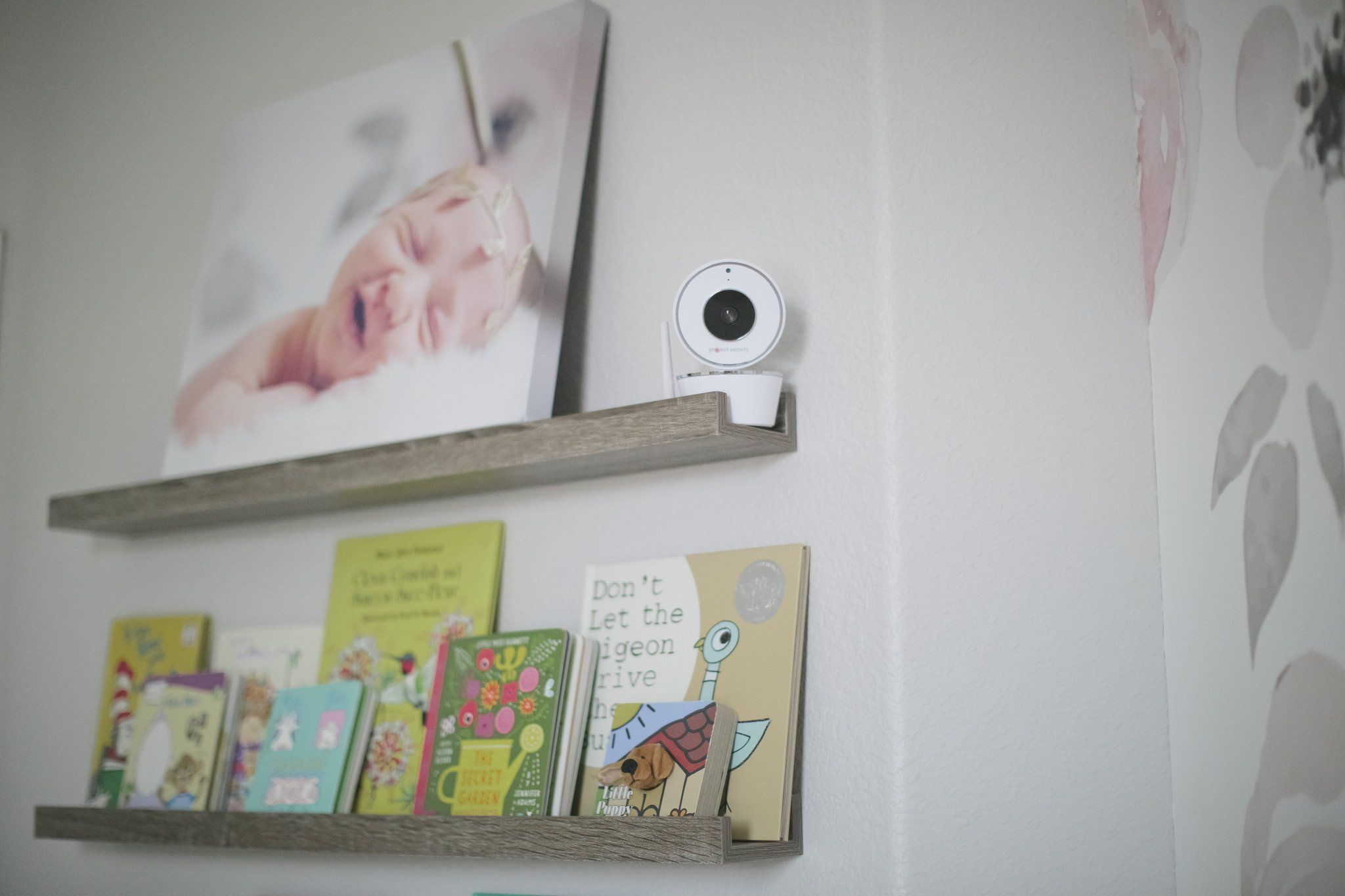 Project Nursery 4.3\u201d Baby Monitor System with 1.5\