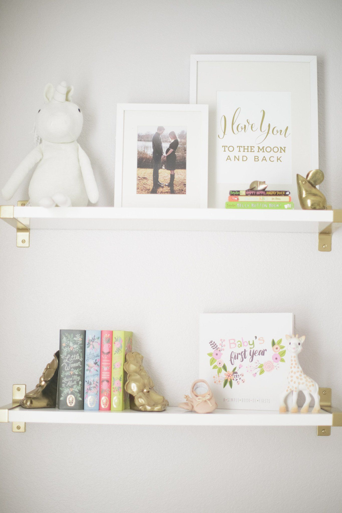 I Love You To The Moon And Back Print - Project Nursery