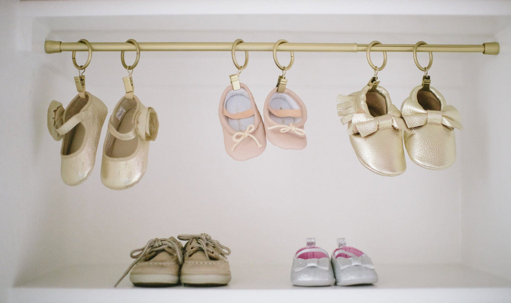 Pink Baby Ballet Slippers  - The Project Nursery Shop - 3