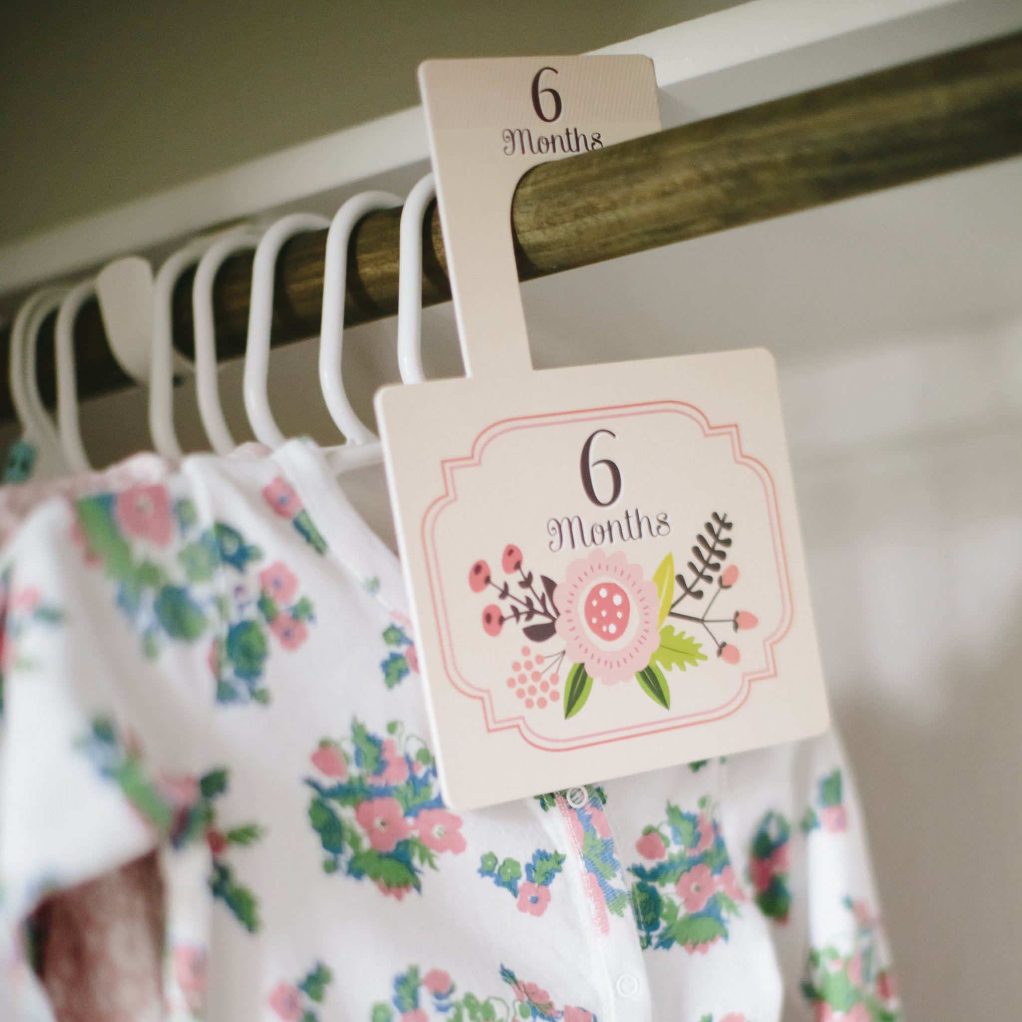 Little Artist Closet Dividers - Project Nursery