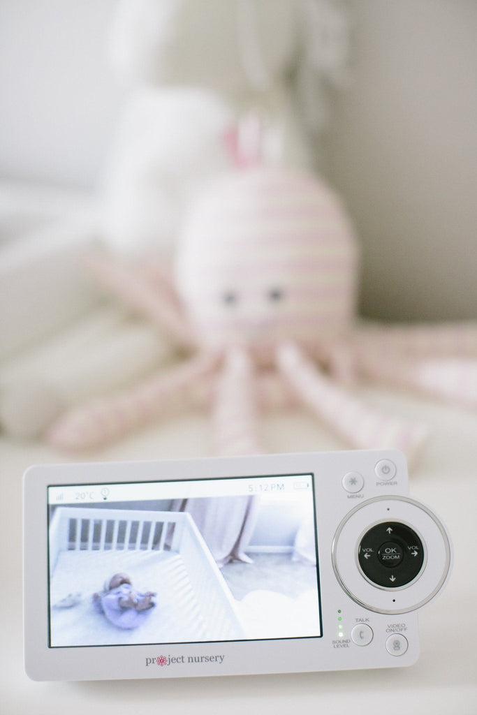 "Project Nursery 5"" High Definition Baby Monitor System with 1.5"" Mini Monitor  - The Project Nursery Shop - 5"