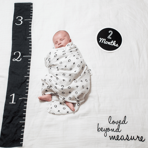 Love Beyond Measure Milestone Blanket + Card Set - Project Nursery