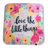 'Little Things' Organic Cotton Knit Blanket  - The Project Nursery Shop - 1