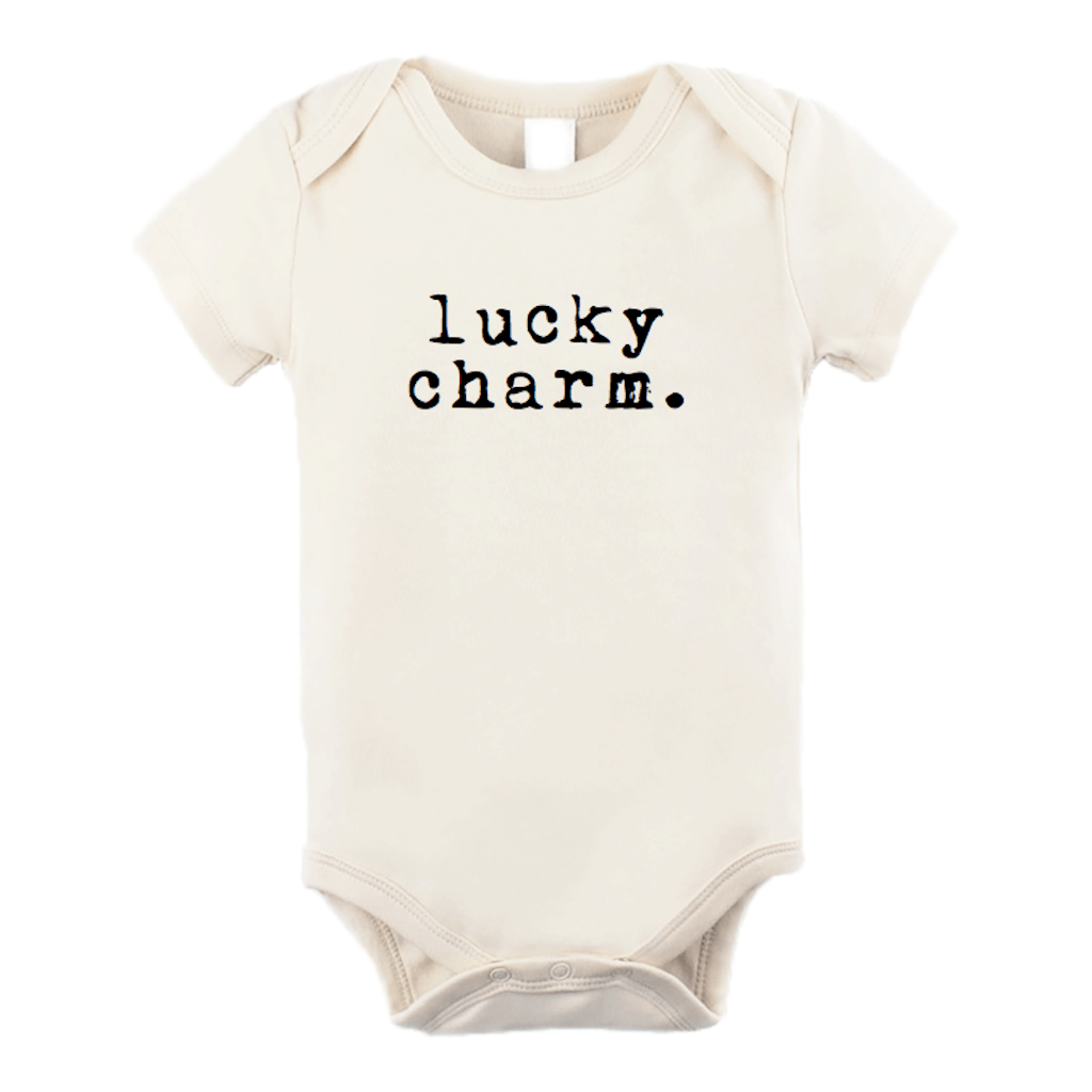Lucky Charm Organic Bodysuit - Project Nursery