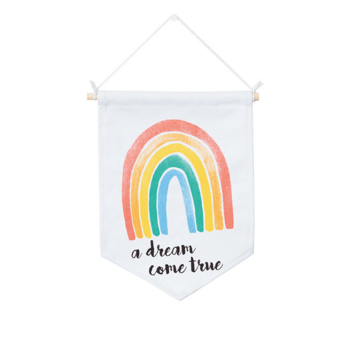 Dream Rainbow Wall Banner - Project Nursery
