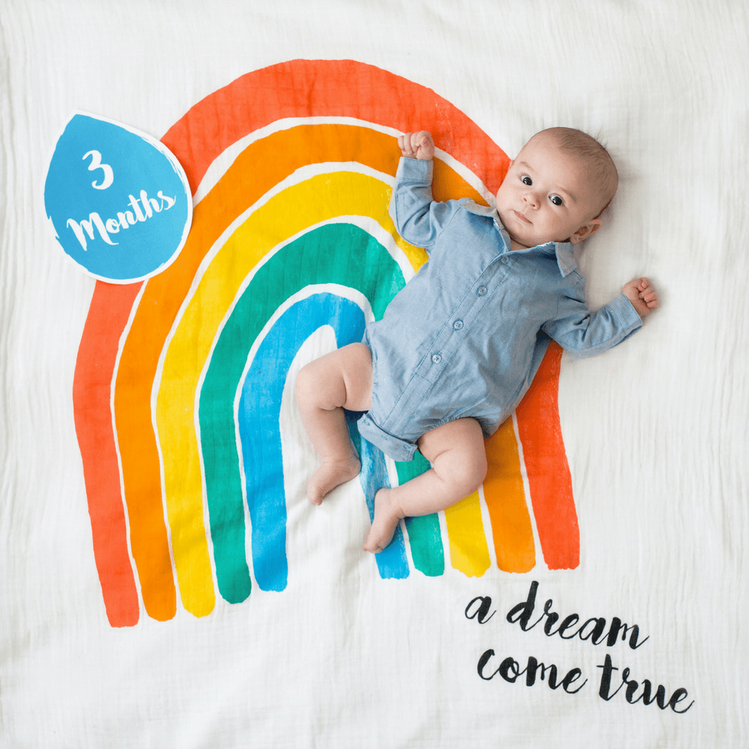A Dream Come True Milestone Blanket & Card Set - Project Nursery