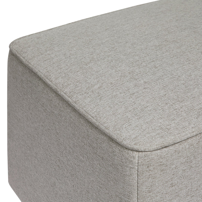 Kiwi Gliding Ottoman in Eco-Performance Fabric - Grey - Project Nursery