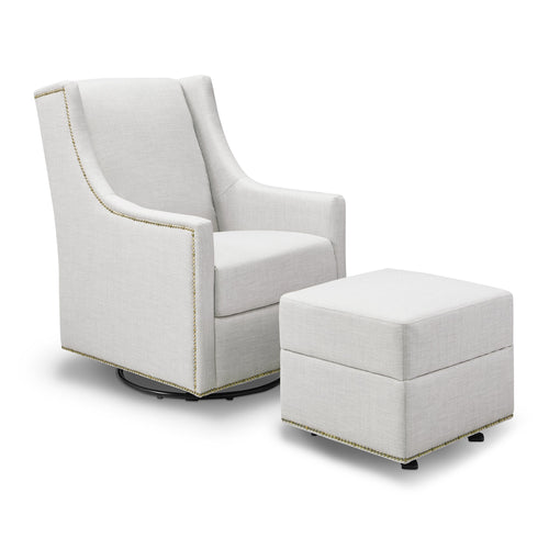 Harper Swivel Glider with Gliding Ottoman - Project Nursery