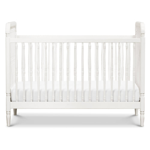 Liberty 3-in-1 Convertible Spindle Crib with Toddler Bed Conversion Kit - Project Nursery