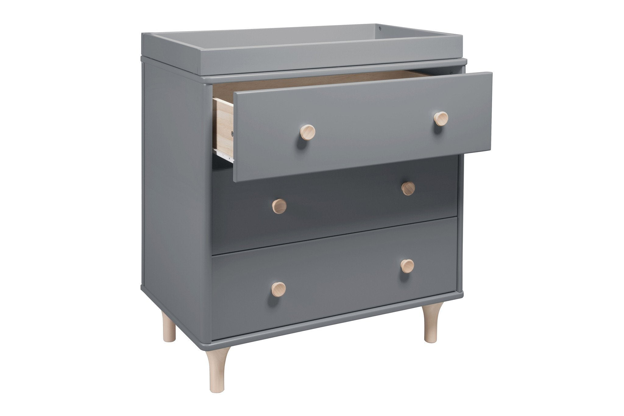 Lolly 3 drawer changer dresser project nursery Nursery chest of drawers with changer