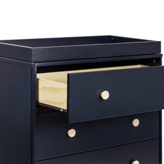 Lolly 3-Drawer Changer Dresser in Navy - Project Nursery